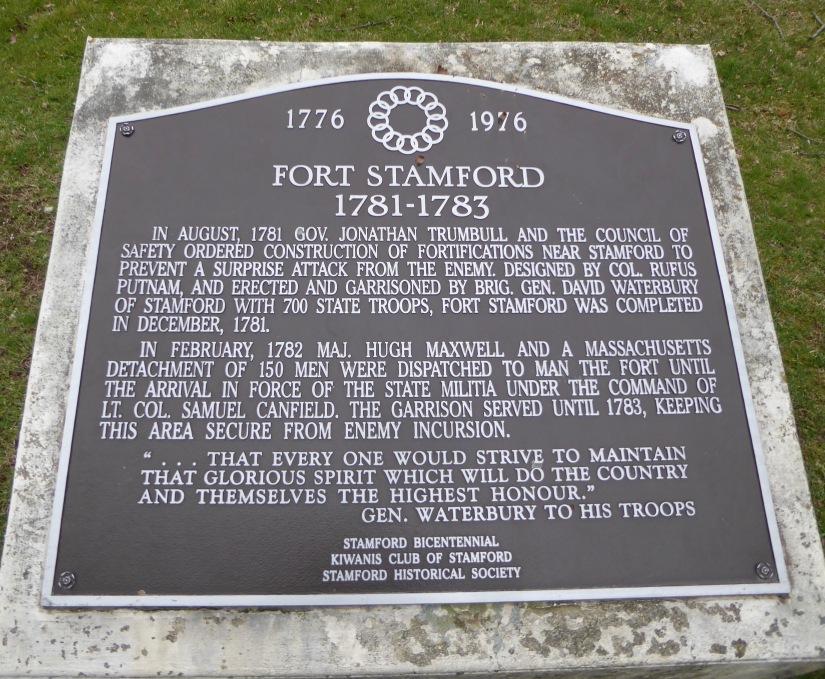 Fort Stamford marker
